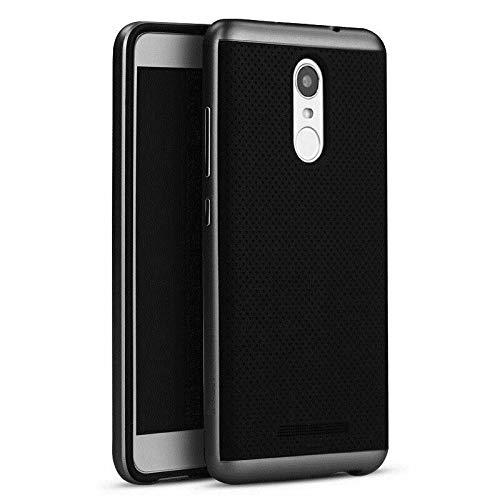 Ikijcover - Funda tipo libro para Xiaomi Redmi Note 3 Flip Cover Ultra Slim Armor Bumper Hybrid Cover Slim Armor Smart Case de alta calidad. ...