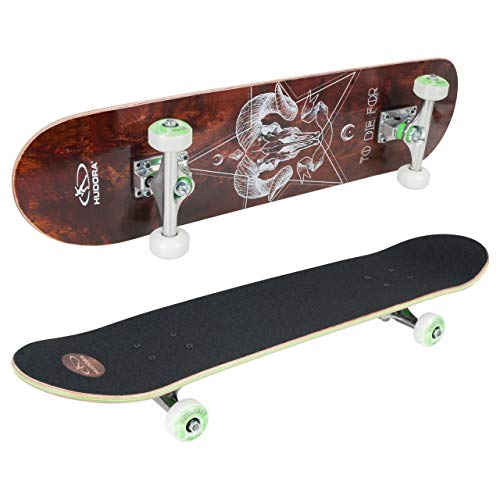 Hudora Skateboard Bronx ABEC 7, FSC 100%–Skateboarding, 12761