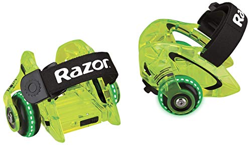 Razor Jetts DLX Heel Wheels - Neon Green - FFP