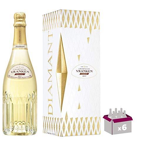 Champagne Vranken - Diamant Brut - In confezione regalo 6 * 75cl