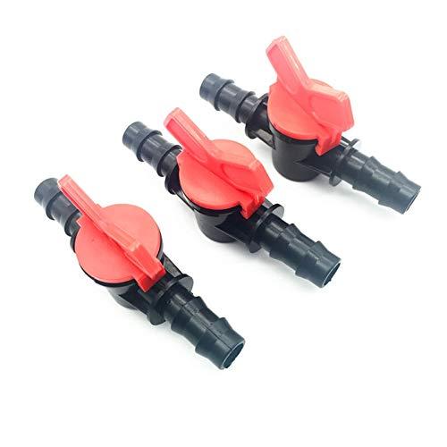 Kit de conector de manguera 30 PCS Interruptor de riego de jardín Diámetro adecuado 16 mm Conectores de plástico de agua al por mayor (Diameter : DN16 mm pipe)