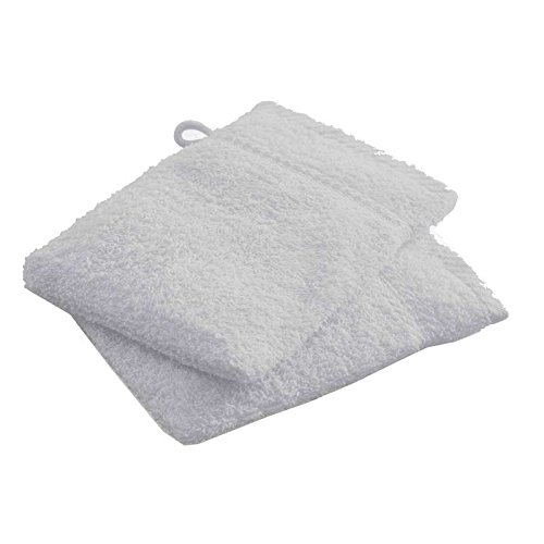 Paris Prix - Lot De 2 Gants De Toilette Today Zinc 16x21cm