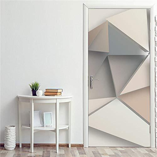 Ygccw Dzmt016_77X200cm - Mural de pared para puerta 3D