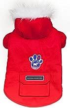 Canada Pooch Winter Wilderness Jacket, Red, Size 24