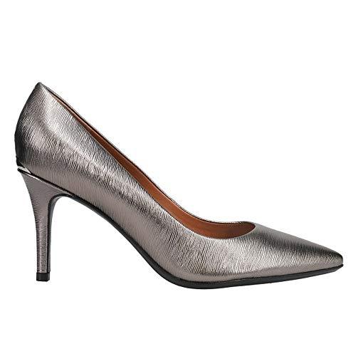 Calvin Klein Damen Gayle Pumps, anthrazit, 38.5 EU