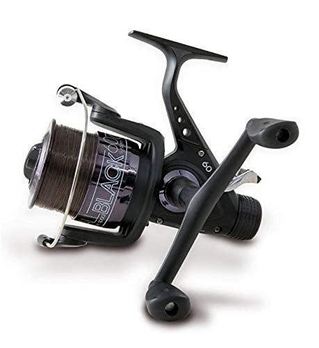 Lineaeffe Fishing Reel All Black 60 Baitrunner Carp Fishing Feeder