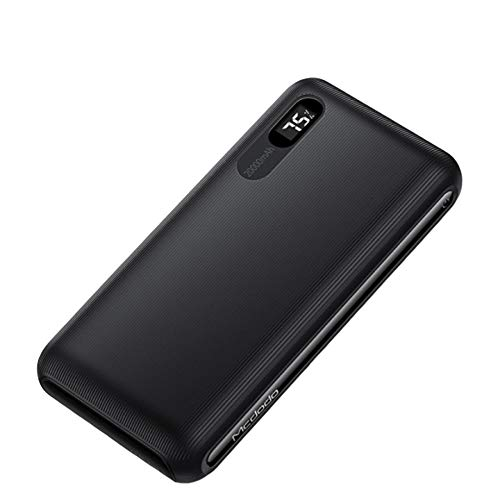 20000Mah Acculader Powerbank, Digitale display Snelle lading 2A Externe draagbare Powerbank, voor iPhone Samsung Xiaomi
