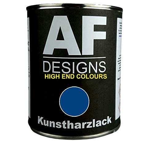 Alex Flittner Designs 1 Liter Kunstharzlack für FINDUS BLAU Maschinen LKW NFZ Lack Landmaschine Baumaschine