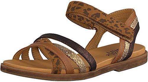 BULLBOXER Elysa Sandalen/Sandaletten Madchen Braun - 39 - Sandalen/Sandaletten Shoes