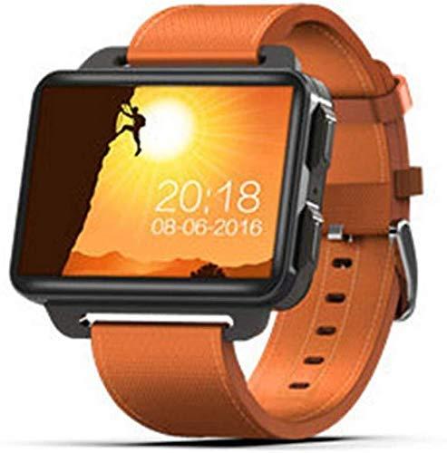 Meyeye Smart Watch 2018 Smart Watch Android 5.1 Smartwatch 2.2 inch display 1200 mAh batterij 1 GB 16 GB WiFi 3G Smart Armband (kleur: groen), Oranje