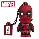 Chiavetta USB 32 GB Deadpool - Memoria Flash Drive 2.0 Originale Marvel, Tribe FD016708