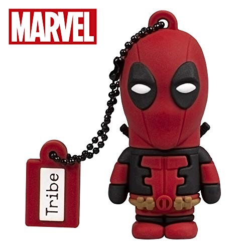 USB Stick 16 GB Deadpool - Speicherstick Memory Stick 2.0 Original Marvel, Tribe FD016508