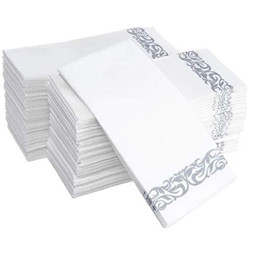 Serviette 100pc À Usage Unique Serviettes Papier Cuisine Propre Table Wipe Papier Propre Wipe
