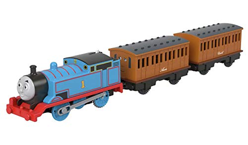 UKB Thomas & Friends Thomas, Annie y Clarabel Tren motorizado (H5, W4.1, D32.2cm)