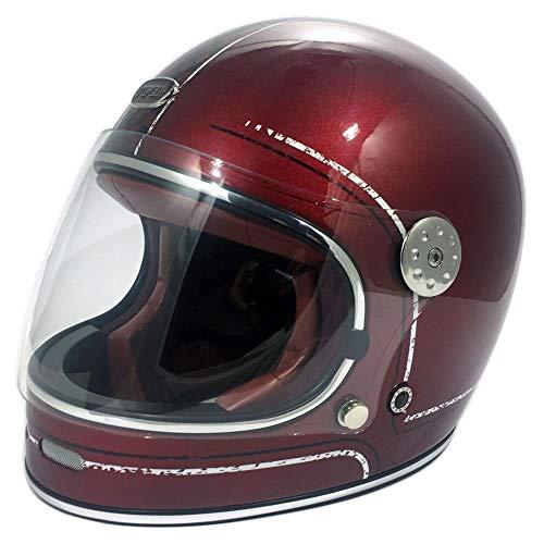 Casco de moto clásico F656