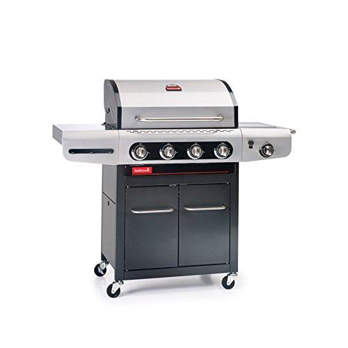 barbecook Gasgrill, Siesta 412, schwarz/grau, 87,5 x 77 x 52,5 cm, 2239241200