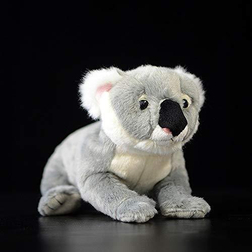 Spuik Cute Koala Doll Plush Soft Toy High Simulation Koala Animal Stuffed Toy 23cm Cartoon Plush Doll Figurine Kid Cuddly Toy Boy Girl Children Companion Toy Birthday Gift Present