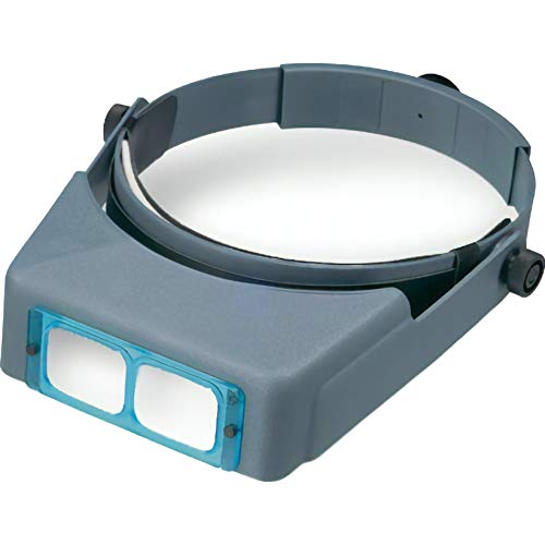 Donegan Optical DA-2 OptiVISOR Headband Magnifier, 1.5x...