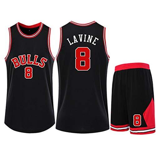 Zach LaVine 8# Chicago Bulls Jersey de entrenamiento de deportistas al aire libre transpirable secado rápido 4XS-5XL blanco rojo amarillo azul real negro