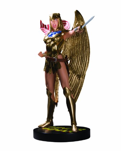 DC Direct Cover Girls of the DC Universe: Wonder Woman (Armored) Statue by DC Comics