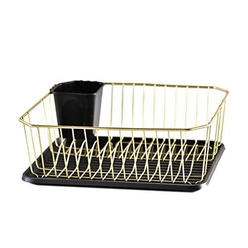 Conemmo Gold platte borden voor afvoer en afvoer thuis, keuken