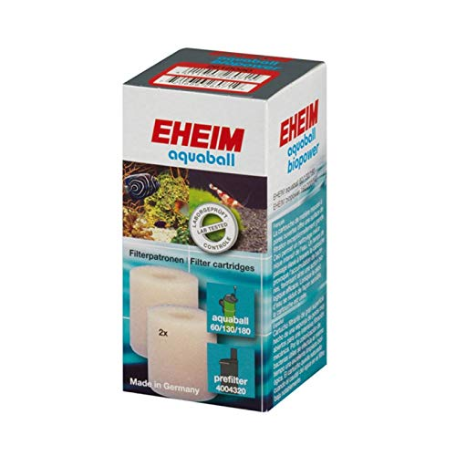 Eheim - aquaball/biopower - Mousse charbon