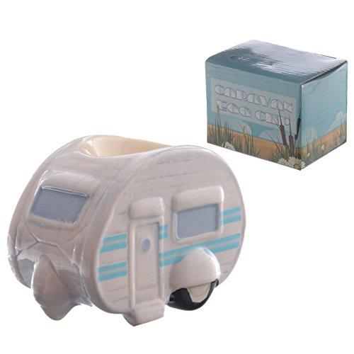 EliteKoopers 1 x lustiger Keramik-Eierbecher für Wohnwagen