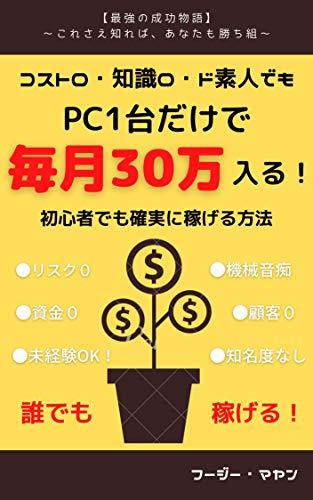 PC1台だけで毎月30万入る!: 初心者でも確実に稼げる方法