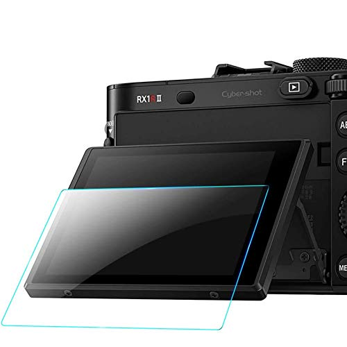 QIBOX Screen Protector Compatible with Sony a7RIV a7RIII A7III A9 a7II A7IV a7SII a7SIII a7RII, RX100VIl RX100VI RX100III RX100 IV V RX 1R Camera, 3-Pack LCD Anti-scratch 9H Tempered Glass Shield