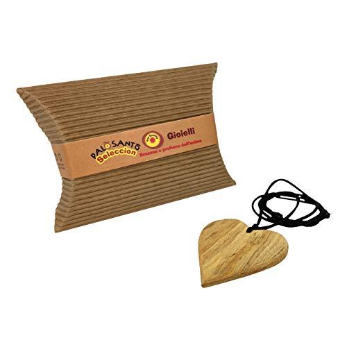 Palo Santo Schmuck Anhänger Herz – Holzschmuck aus Palo Santo Holz