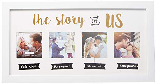Kate & Milo 'The Story of Us' Wedding Collage Picture Frame, Our Love...