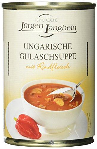 Jürgen Langbein Ungarische Gulaschsuppe, 6er Pack (6 x 400 ml)
