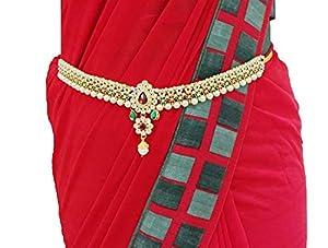Valusha Women's Metal Belly patta (Multicolour)
