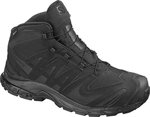 Salomon Men's XA Forces Mid Gore-Tex Backpacking Boot, Black, 9