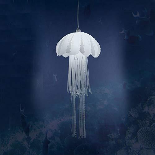 Medusas Led Lámpara Colgante,Moderno Acrílico Luz Colgante,Brillante Tema De Medusas Techo Lámpara Lámpara De Trabajo Para Aquarium Bar Casa Arte Decoración-A 30x85cm(12x33inch)