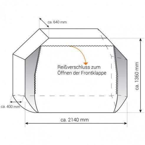 Thule-Omnistor Barras adicionales para portabicicletas para Caravana (2 Piezas)