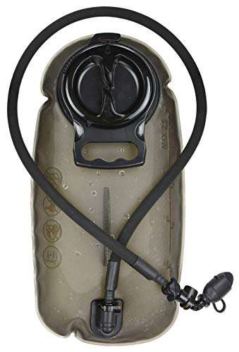 MARCHWAY 2L/2.5L/3L Tactical TPU Hydration Bladder, Tasteless BPA Free Water Reservoir Bag with Insulated Tube for Hydration Pack for Cycling, Hiking, Running, Climbing, Biking (3L Grey 100oz)