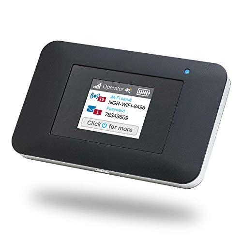 NETGEAR Routeur 4G Modem 4G, Nighthawk Routeur 4G LTE AC797 - débit descendant jusqu à 400Mbps   Connexion WiFi jusqu à 15 appareils   Crée un WLAN n importe où   Déverrouillé compatible toute SIM