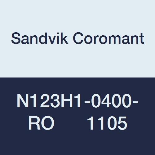 Sandvik Coromant N123H1-0400-RO 1105 CoroCut 1-2 Direct sale Max 84% OFF of manufacturer for Insert Pr
