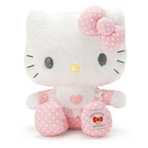 Sanrio Hello Kitty Felpa, Peluche Suave de 18 cm, importación de Japón, edición del 45 Aniversario (Baby Kitty)