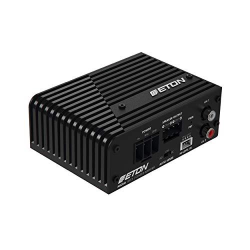 ETON Micro 120.2: sehr kompakte 2-Kanal Endstufe, Class-D Digital Verstärker, perfekt auch für Reisemobile