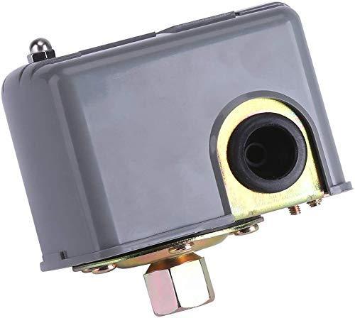 MOZUSA Interruptor de presión Bomba de Agua Interruptor de Control de presión Ajustable Doble Resorte Polo Instrumentos