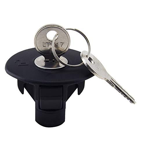 FANLIDE Locking Fuel Gas Plug Cap w/Keys...