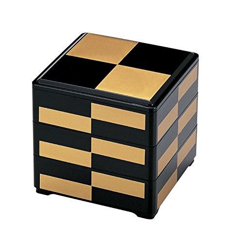 若泉漆器『三段重箱』