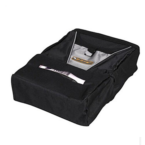Design Simple Suspension de Organiseur pour dossier de siège de voiture type Oxford Sac de rangement, Noir