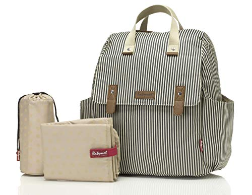 Babymel Changing Backpack 4-in-1 Robyn Navy Stripe BM 5151
