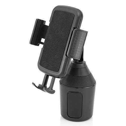 MidGard Universal Autohalterung für KFZ-Getränkehalter, Cup Mount für Smartphones bis zu 9,5cm Breite