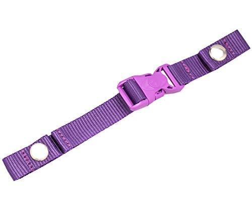 Belmil Zubehör Brustgurt für Schulranzen Verstellbarer Kompatibel mit den Schulranzen Modellen: 403-13, 405-30 (334 Lila, Purple)