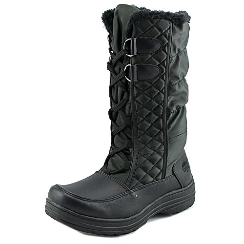 totes Women's Bootie Snow Boot, Black, 9