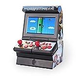 bowlder Spielautomat FC Spielmaschine Mini Arcade 8 Bit Mobilteil mit Kabellosem Neutralem...